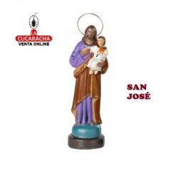 San José en barro 25 cm