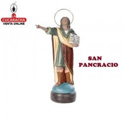 San Pancracio en barro 25 cm