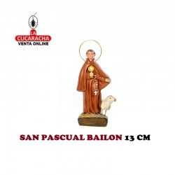 San Pascual Bailon 13 cm