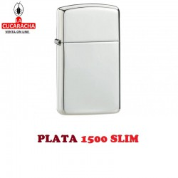 Encendedores Zippo Plata Exclusive Luxury. PLATA 1500 SLIM