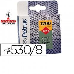 Grapas Petrus Nº- 530-8 - Caja de 1200 Grapas.- Unidadx10