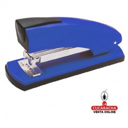 Grapadora Petrus 2001P Color-Azul-Capacidad 20 hojas