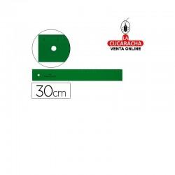 Regla FABER 30cm Plastico Verde
