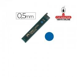 Minas FABER Azul 9085 0,5mm Estuche 12.- Unidadx12