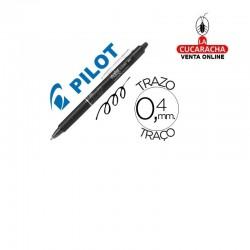 Boligrafo PILOT Frixion Clicker Borrable 0,7mm Negro.- Unidadx12