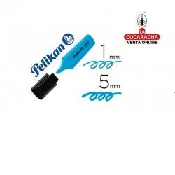 Rotulador PELIKAN Fluorescente Textmarker Signal Azul.- Unidadx10