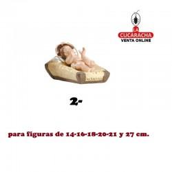 Niños de Cuna Estilo Salzillo Especial en barro para figuras de 14-16-18-20-21-27 cm.