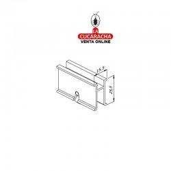Ruleta Aluminio Ventana Corredera Con Rodamiento F-221 S-640