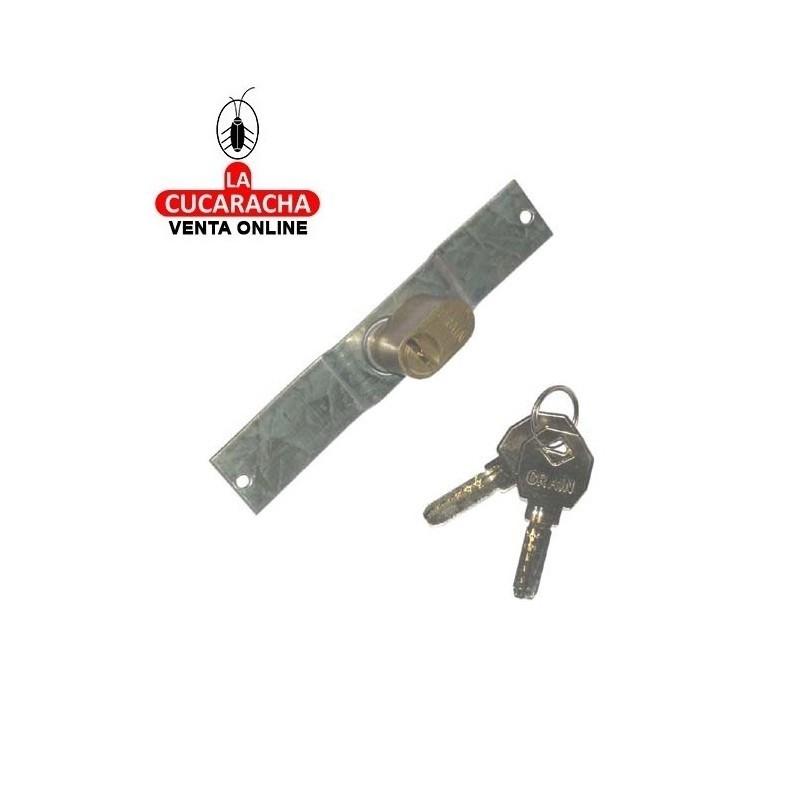 Cerradura Puerta Rejas PROFER Seguridad llaves distintas