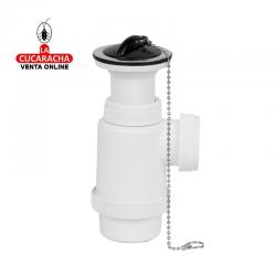Sifon Botella MIRTAK Extensible Con Valvula 1-1/2