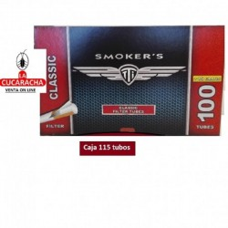 Caja de 115 Tubos SMOKERS Classic 8mm..