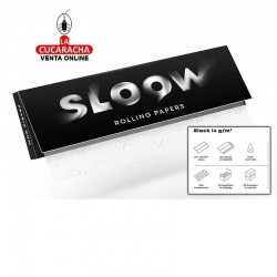 Papel Liar SLOOW Black 70mm-14gr-50Hojas