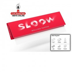 Papel Liar SLOOW Red 70mm-18gr-50Hojas.