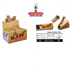 Filtros Cartón RAW Tips 50 Hojas.