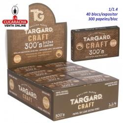 40 Bloces de 300 Hojas Papel Liar 1.1/4 Craft TarGard.