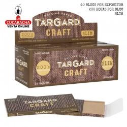 40 Bloces de 200 Hojas Papel Liar Slim 110mm. Craft TarGard.