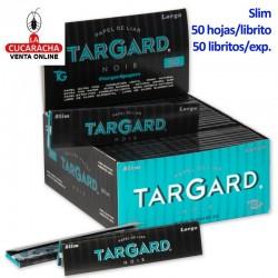 50 Libros de 50 Hojas Papel Liar 108mm. Slim Noir TarGard.