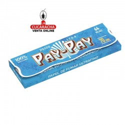PAPEL FUMAR 70mm. 64HOJAS ULTRAFINO PAY PAY