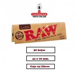 10 Estuches RAW 1.1/4 Classic 24 UDS