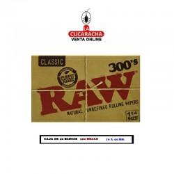 Estuche RAW Bloc 300 1.1/4 Classic 40 UDS