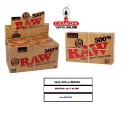 Estuche RAW Bloc 500 1.1/4 Classic 20 UDS