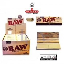 Estuche RAW King Size Slim +Tips Classic 24 UDS