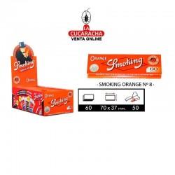 Estuche Smoking Regular Nº8 Orange