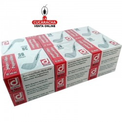 12 cajitas de filtros para pipa 6mm de papel DENICOTEA.