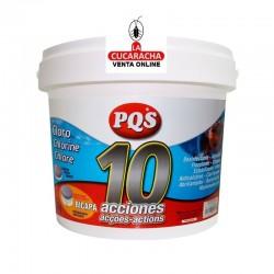 Cloro Bote 5kg. 10 Acciones Bicapa PQS.