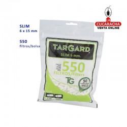 Bolsa de 550 Filtros 6mm. TarGard.