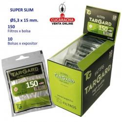 Bolsa de 150 Filtros Superslim 5.3mm. TarGard.