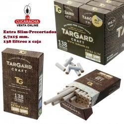 Caja de 138 filtros Precortados Tips 5.7mm. CRAFT® TarGard.
