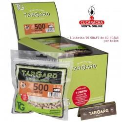 Bolsa de 500 filtros 6mm. más librito Biodegradable CRAFT® TarGard.