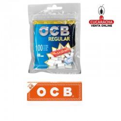 Bolsa de 100 Filtros OCB Regular 8 mm Con Librito