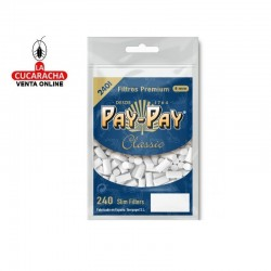 PAY PAY-Pack 30-Bolsa de 240 Filtros 6mm.