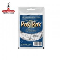 Filtros Cigarrillo PAY PAY 8mm Bolsa 100 unidades