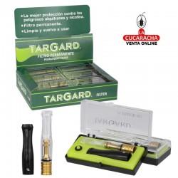 TARGARD-Pack 12-Boquilla Filtro Permanente Cigarrillo.