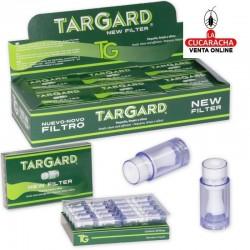 Expositor con 24 cajas de 20 filtros TG Tar Gard New
