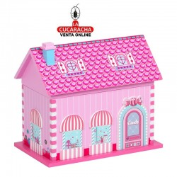 Joyero Casa Musical madera modelo Candy.