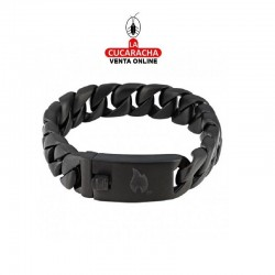 Pulsera Steel Link Clip 18cm. Zippo.