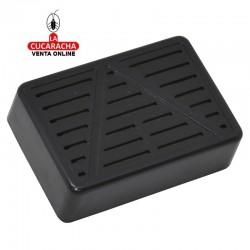 Humificador para caja de puros en plástico, forma rectangular, con esponja interior para humedecerla.