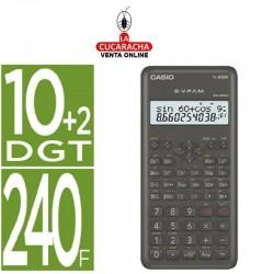 CASIO Calculadora fx-82msii cientifica 240 funciones pantalla de dos lineas.