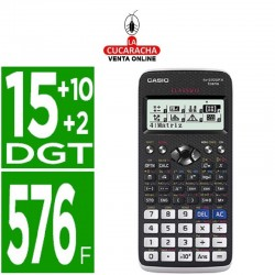 CASIO Calculadora fx-570spx ii classwiz cientifica 576 funciones.