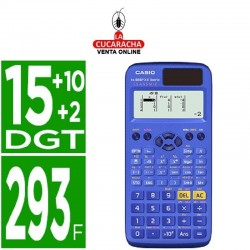 CASIO Calculadora fx-85spx ii classwiz cientifica 293 funciones.