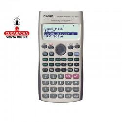 CASIO Calculadora fc-100v financiera 4 lineas.