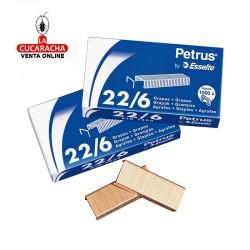 Grapas Petrus Nº- 26-6 - Galvanizadas Caja de 1000 grapas.- Unidadx20