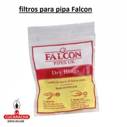 Bolsa de 25 Filtros FALCON para Pipa Standar y Extra.