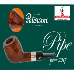 Pipa de Fumar Peterson Serie Pipa del Año 2017