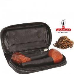 BOLSA 2 PIPAS FUMAR TABACO Y ACCESORIOS