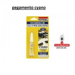PEGAMENTO CYANOCRILATO SOUDAL 3GS